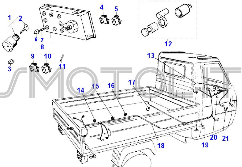 Schema Elettrico Ape 50 : Pin schema elettrico ape tm on pinterest